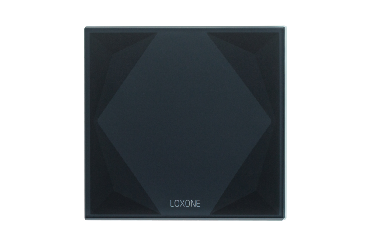 Loxone 100208 Touch Pure AIR Antraciet