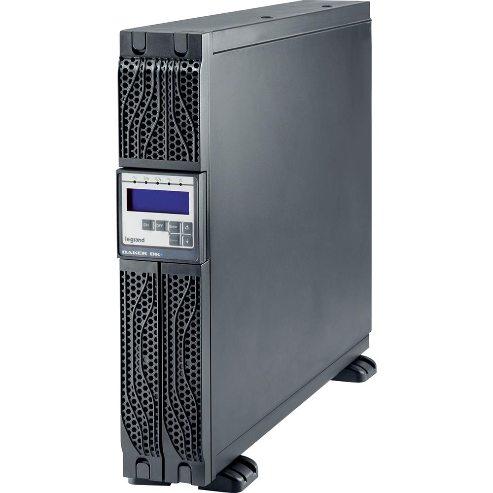 Legrand LD310171 UPS Daker DK Plus 2 KVA met een autonomie van 10 min. Voorzien van RS232 en USB aansluiting.